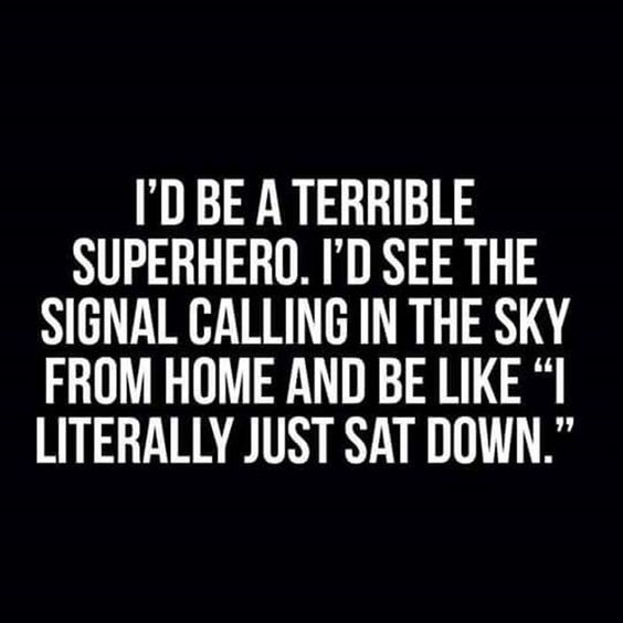 terrible superhero